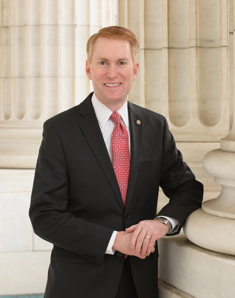 Senator James Lankford Official Photo